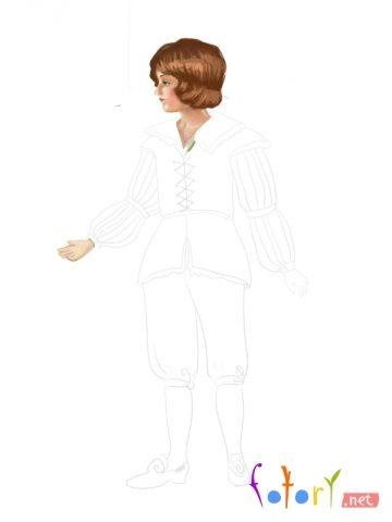 Як намалювати олівцем людей схеми для початківців 14