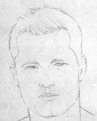 Як намалювати олівцем людей схеми для початківців 19