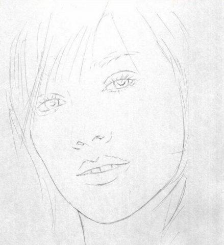 Як намалювати олівцем людей схеми для початківців 24