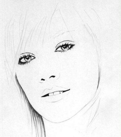 Як намалювати олівцем людей схеми для початківців 25