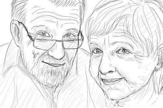 Як намалювати олівцем людей схеми для початківців 27