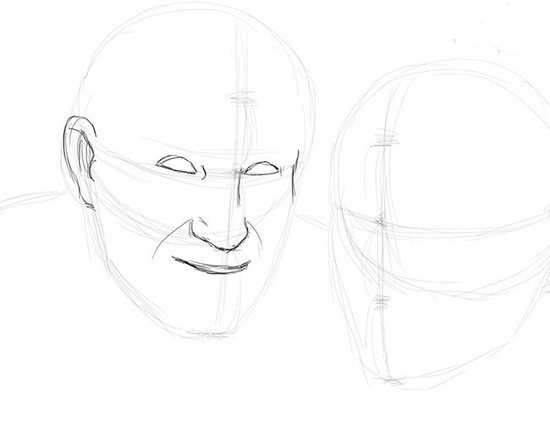 Як намалювати олівцем людей схеми для початківців 31