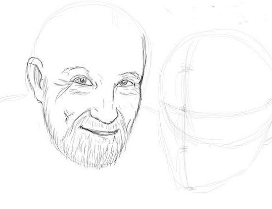 Як намалювати олівцем людей схеми для початківців 32