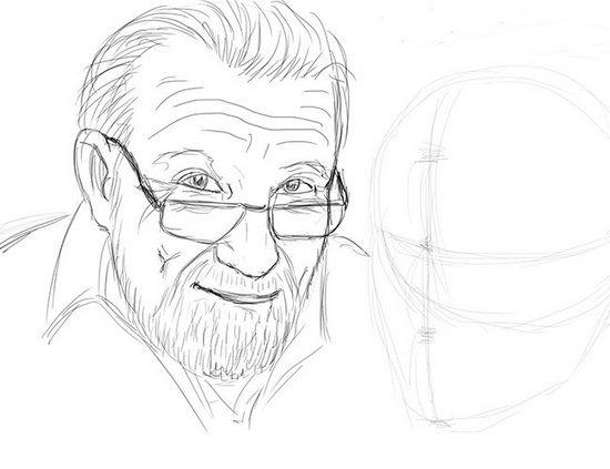 Як намалювати олівцем людей схеми для початківців 33