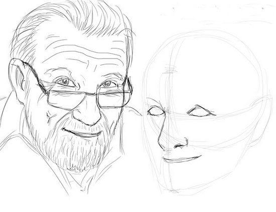 Як намалювати олівцем людей схеми для початківців 34