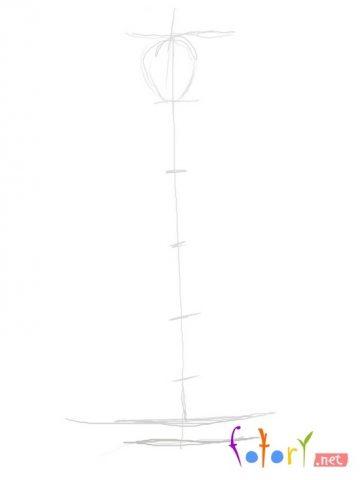 Як намалювати олівцем людей схеми для початківців 444 6