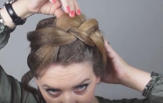 Зачіски на волосся. Як зробити об'ємні зачіски 17