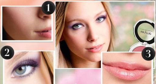 Літній макіяж фото красивого легкого макіяжу 9