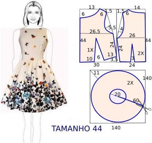 Літня сукня своїми руками – як зшити 10 d305d84f0f75e