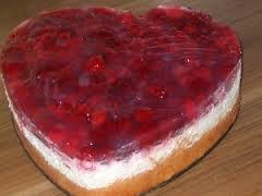Літній малиновий торт рецепт