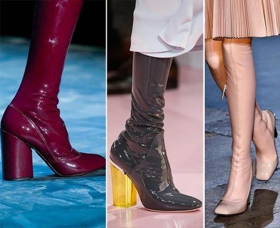 Модне осіннє взуття - жіночі новинки, кольору 1