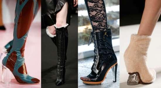 Модне осіннє взуття - жіночі новинки, кольору 3