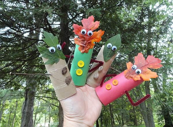 Осінні поробки для дітей своїми руками 9