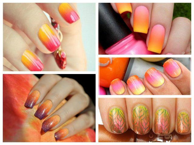 Осінній манікюр модні кольори і техніки 2