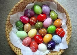 Природні барвники для виготовлення пасхальних яєць