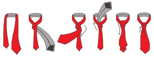 Як завязувати галстук: від простих до незвичайних способів