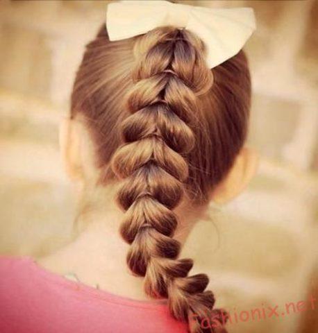 Зачіски на 1 вересня на волосся. Варіанти зачісок