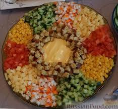 Рецепти салатів. Оригінальна підбірка
