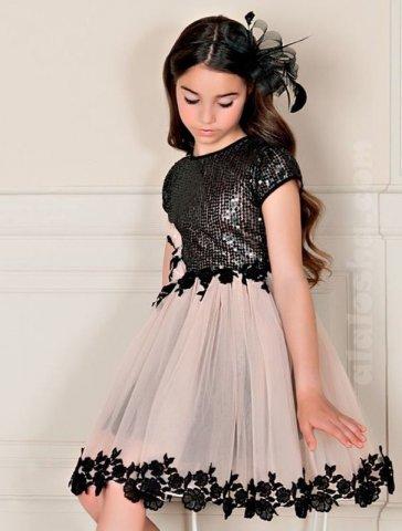 Новорічні плаття для дівчаток. Особливості святкового гардероба 067a84fa4c57e