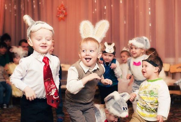 Новий рік для дитини 3 років