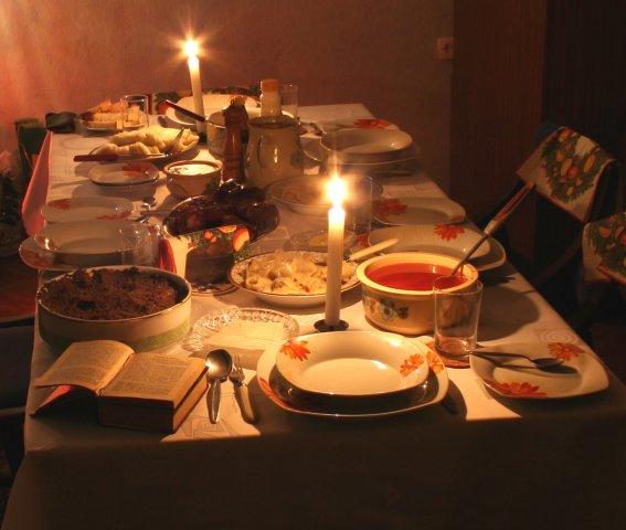 Різдвяний піст - календар харчування по днях