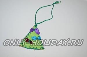 Новорічний декор з мішковини. Оригінальні ідеї
