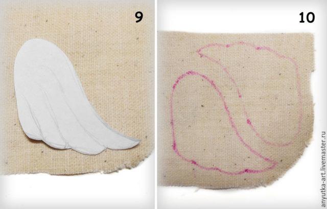 Ялинкові прикраси з лляної нитки. Оригінальні ідеї