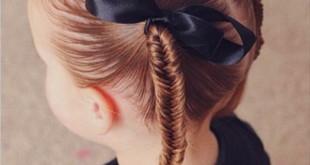 Дитячі зачіски – оригінальні ідеї створення зачіски