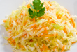 Салат з капусти для схуднення. Підбірка рецептів