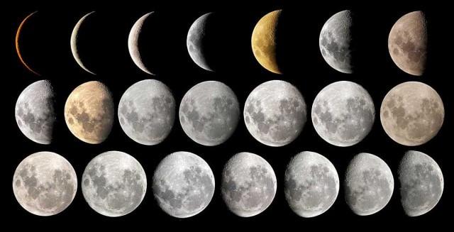 Місячний календар на жовтень 2018 року
