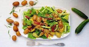 Смачні салати на новий 2019 рік - підбірка рецептів