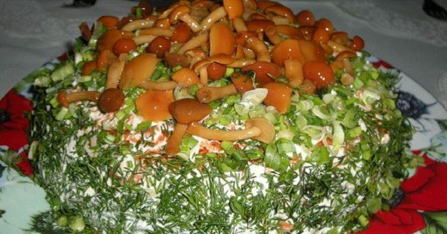 Пісні салати з майонезом. Корисна підбірка смачних страв