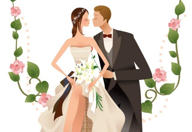 Місячний календар весіль на січень 2021 рік по дням