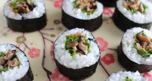 Як зробити суши  у домашніх умовах