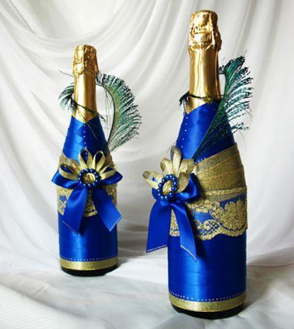 Новорічне шампанське своїми руками. Цікава підбірка