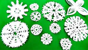 Новорічні сніжинки з паперу. Підбірка