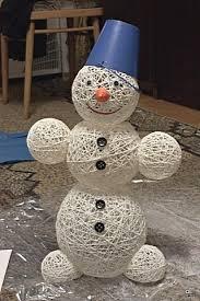 Новорічний сніговик своїми руками. Підбірка