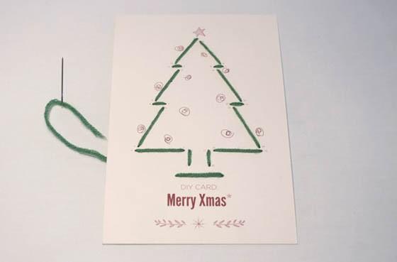 Відкритка на різдво своїми руками. Підбірка